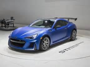Subaru Brz Sti Horsepower Subaru Brz Sti Performance Concept Unveiled At 2015 Nyias