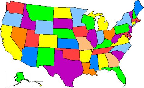 united states map test states and capitals united states map quiz clipart best