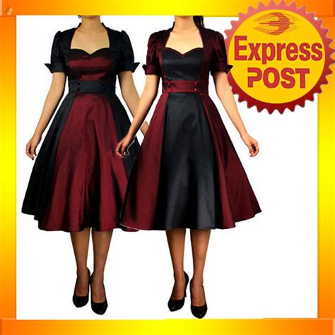 swing dancing attire rk51 rockabilly 50s 60s pin up cocktail party evening