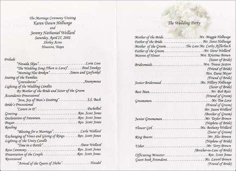 layout wedding program google image result for http www the wedding printer com