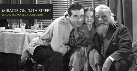 Miracle On 34th 1947 Megavideo Miracle On 34th Oscars Org Academy Of Motion Picture Arts And Sciences