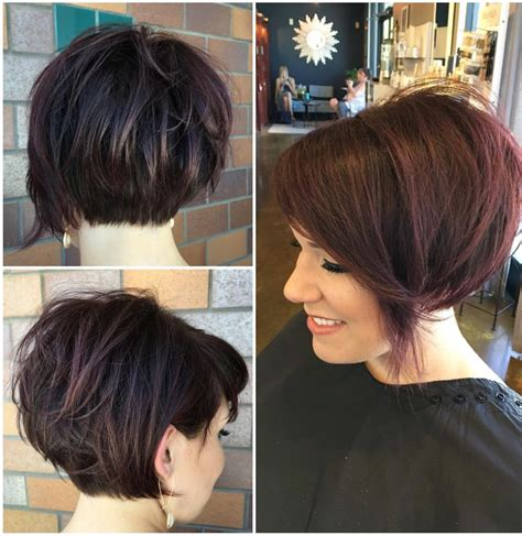 hairstyles for growing stacked bob out if i decide to grow out my undercut hair pinterest