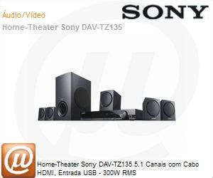 Home Theater Sony Dav Tz135 sony dav tz135 home theater sony dav tz135 5 1 canais