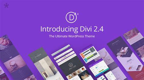 elegant themes mobile version wordpress theme divi 2 4 gets a rev new features