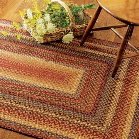 100 Cotton Braided Rugs - buy biscotti multi color cotton braided rugs