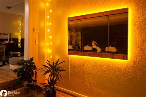 Bild Indirekt Beleuchten by 1 X5m Foto Auf Leinwand Mit Led Beleuchtung Foto Bild