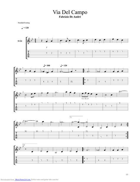 don raffaè testo e accordi via co guitar pro tab by fabrizio de andr