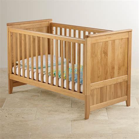 cot bunk beds bevel 3 in 1 cot bed in natural solid oak oak furniture land