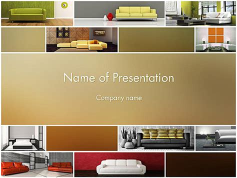 Car Interior Design Powerpoint Templates And Backgrounds For Your Presentations Download Now Interior Design Presentation Templates