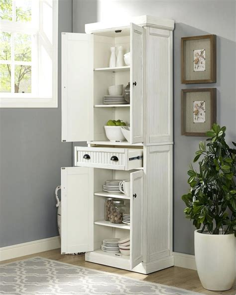 standing kitchen pantry cabinet home interior