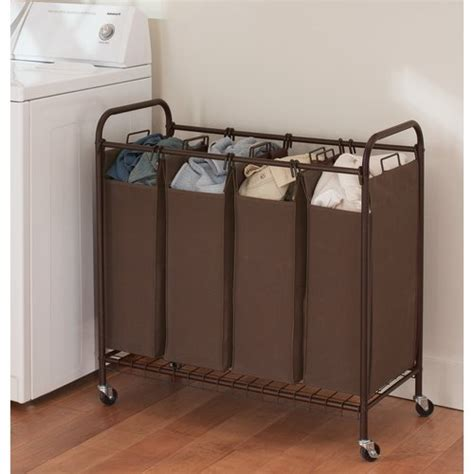 laundry sorter better homes and gardens 4 bin laundry sorter