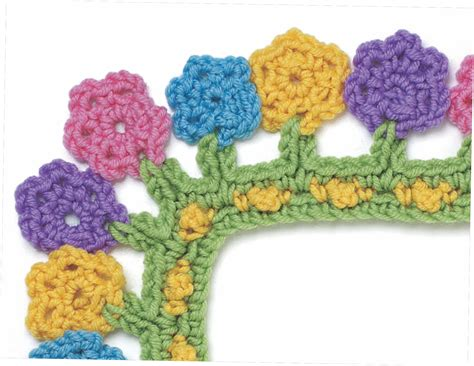 Pdf Around Corner Crochet Borders by Crochet Borders Book Giveaway Allcrafts Free Crafts Update