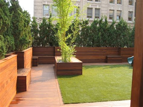 Deck Planters For Privacy by City Beautiful Carpentry Soho Penthouse Roof Deck