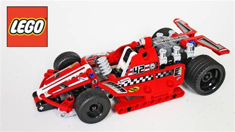 Decool 2217 Pull Back Mini Racing lego race car review unboxing time lapse build technic