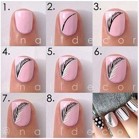 easy pattern for nails easy nail designs