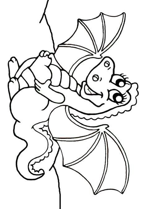 dragon heart coloring page colouring cute dragon carrying heart rooftop post