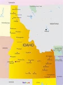 idaho towns map cities in idaho map map