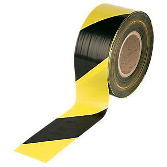 black yellow barrier tape  brighton tools