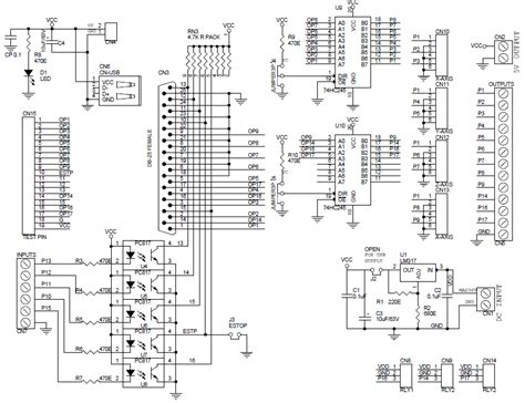 cnc breakout board schematic wiring diagrams repair