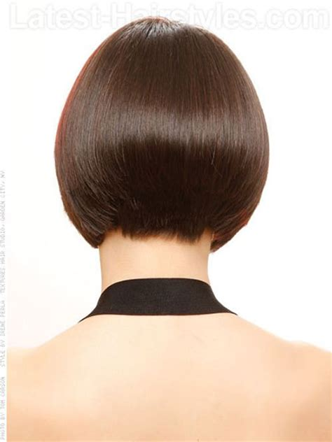 back of bob haircut pictures stacked bob haircut back view and front view black