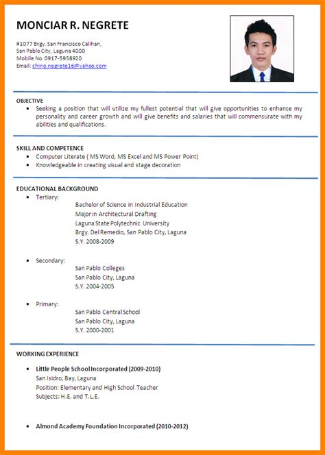 Job Resume Malaysia by Resume Template Malaysia Download Resume Ixiplay Free Resume Samples