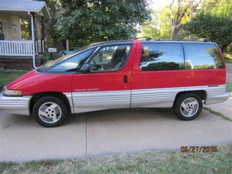 1991 pontiac trans sport van for sale in wichita kansas united states