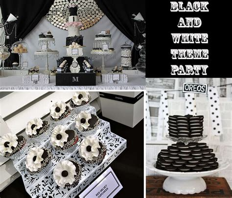 party themes black pics for gt black and white party theme