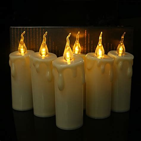 Battery Operated Candles Not Working by 6pcs Warm White Flameless Taper Candles Flickering Votive