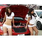 Cars Girls Hot