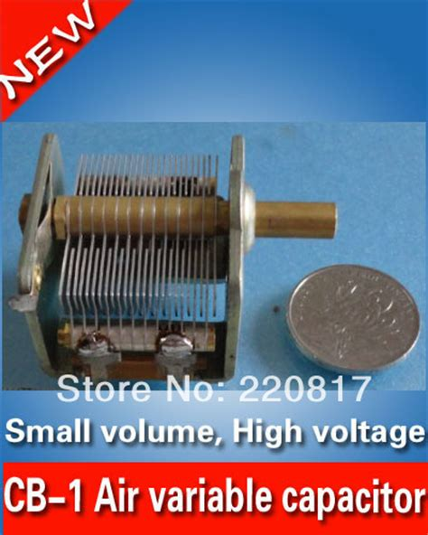 a variable air capacitor used in a radio tuning circuit cb 1 air variable capacitor for radio transmitter high voltage air variable capacitors 13 135pf
