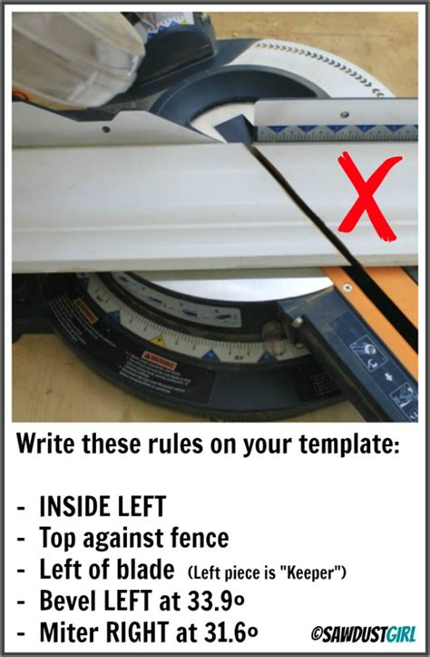 how to cut angles in front corners of hair crown molding made simple with templates http