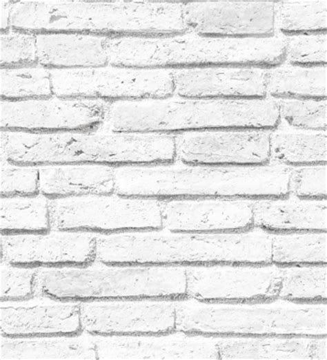 Papel Decorativo Para Pared #4: Papel-pintado-muro-ladrillo-blanco.jpg