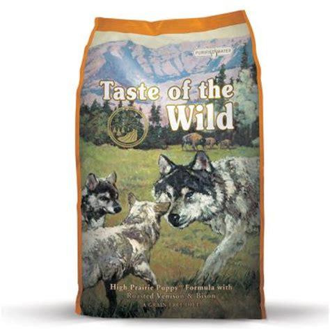 taste of puppy taste of the high prairie puppy hvalpefoder zooplus dk