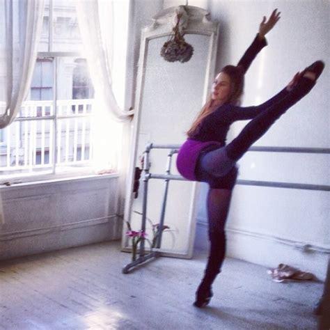 pregnant ballerina pro ballerina dances her way through her pregnancy in