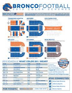 boise state colors boise state announces color schemes for football