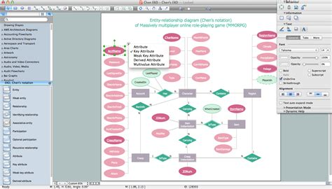 erd diagram maker diagram software
