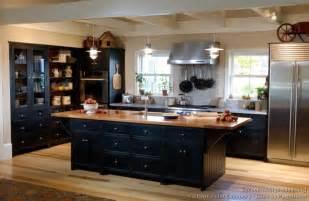 Of kitchens traditional black kitchen cabinets kitchen 10