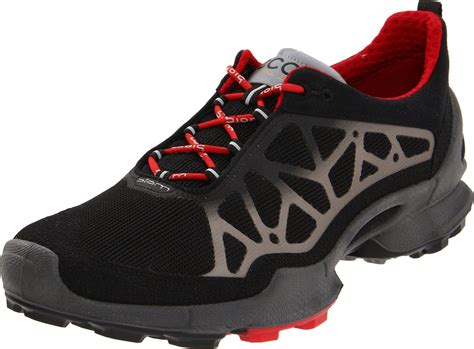 biom running shoes ecco biom 12 trail running shoe in black for black