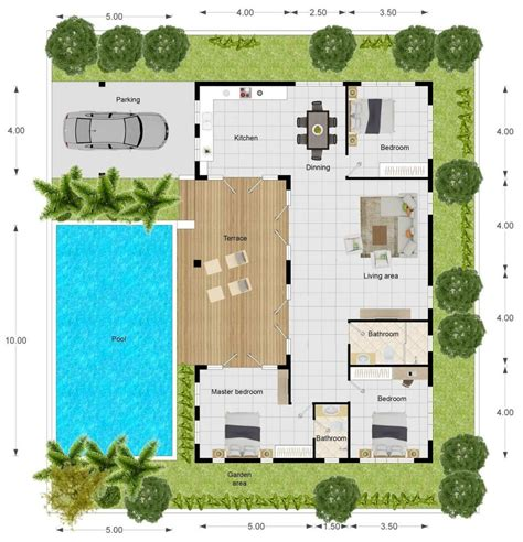 villa layout plan with pool orchid paradise homes luxury villa 4 pool villa