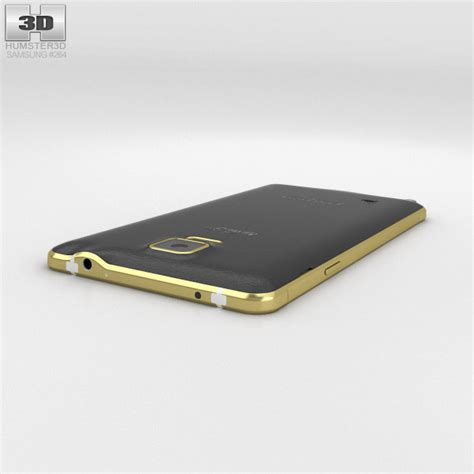 Samsung Note 4 K On samsung galaxy note 4 gold edition 3d model hum3d