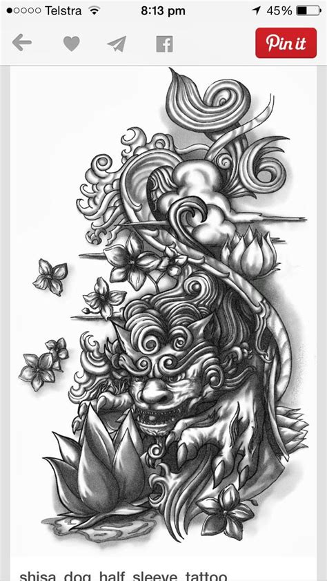 chinese lion tattoo designs 37 best images about lantern construction on