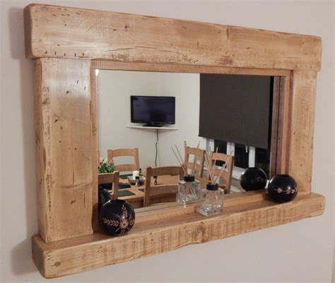 rustic mirrors rustic style wall mirrors best decor things