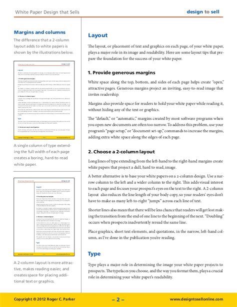 difference between white paper and research paper white paper design tips that sell