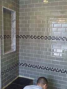 Glass Subway Tile Bathroom Ideas Astounding Bathroom Design Using Glass Tile Shower Wall Panels Ideas Fantastic Home Interior