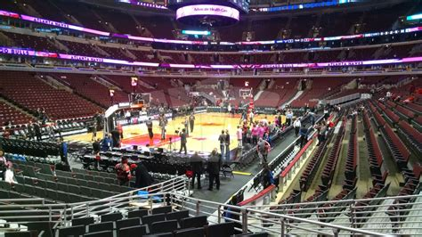 united center section 120 united center section 115 chicago bulls rateyourseats com