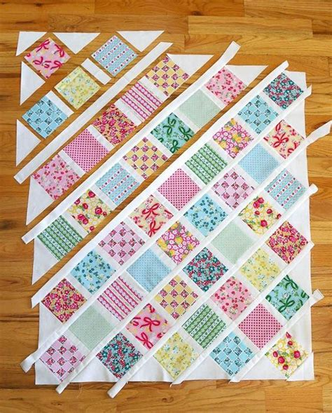 Patchwork Baby Quilt Tutorial - 25 unique patchwork quilting ideas on