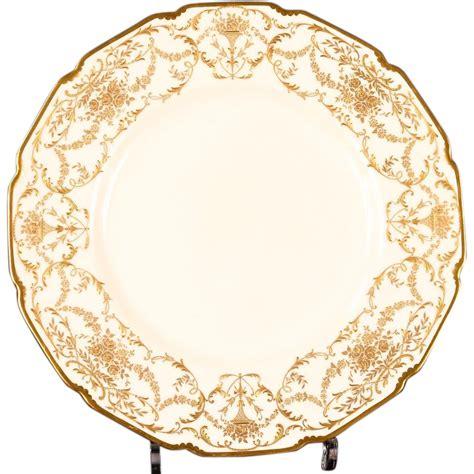 gold dining set plates 12 antique royal doulton gold encrusted dinner or service