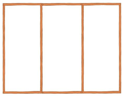 tri fold resume brochure
