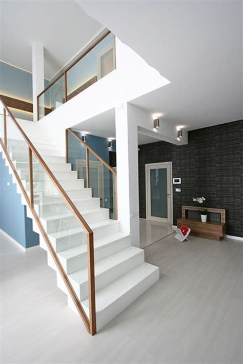 modern banister rails glass stair railing ideas for modern staircase designs