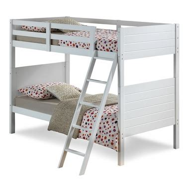 Broyhill Kids Palm Bay Twin Bunk Bed In White Free Shipping Broyhill Bunk Beds
